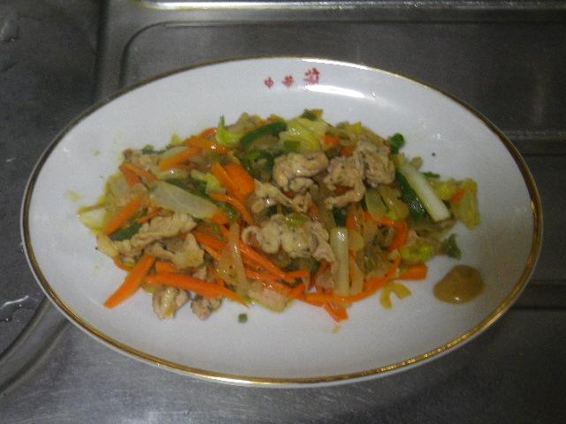 00)  14.10.15恥飯 _ 朝、肉野菜炒め食った。.JPG